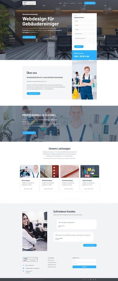 Handwerk Frishche - Glückskind Webdesign Musterkatalog