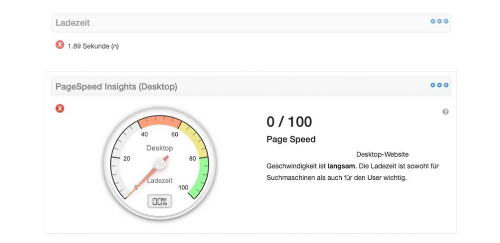 Pagespeed min 1024x499 - SEO Check kostenlos