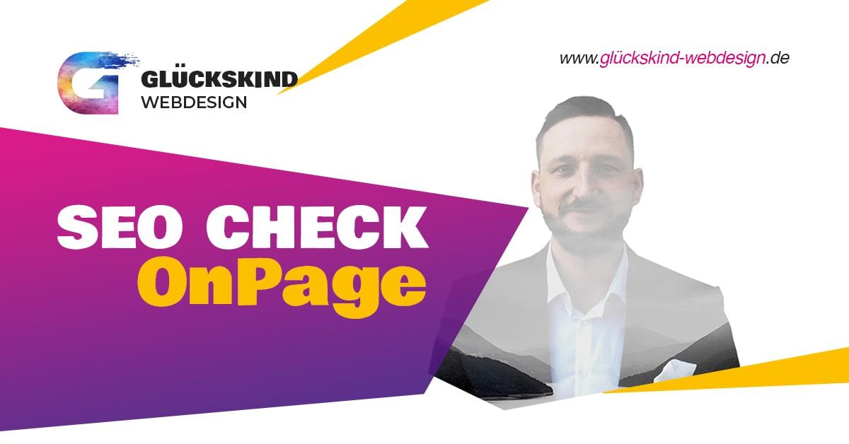 SEO Check OnPage Beitragsbild