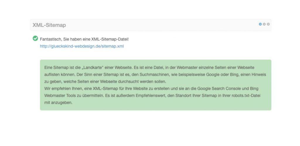 xml sitemap min 1024x499 - SEO Check kostenlos
